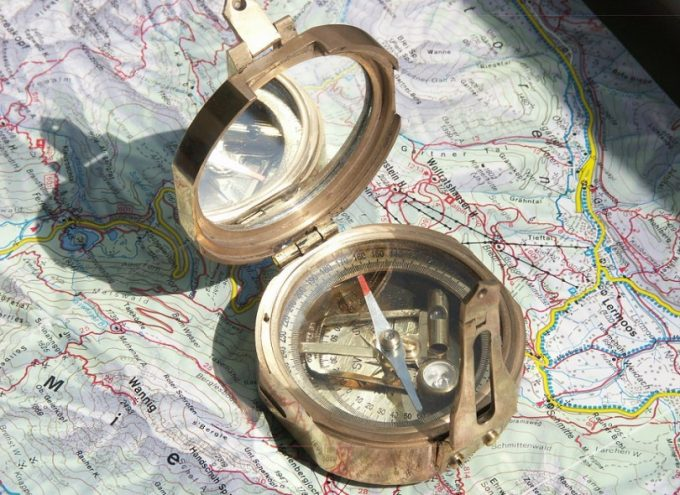 Image showing a Stanley compass