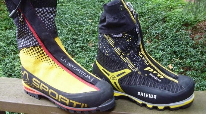 Super Gaiter mountaineering boots