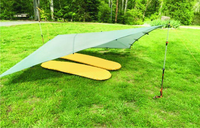 The diamond fly tarp