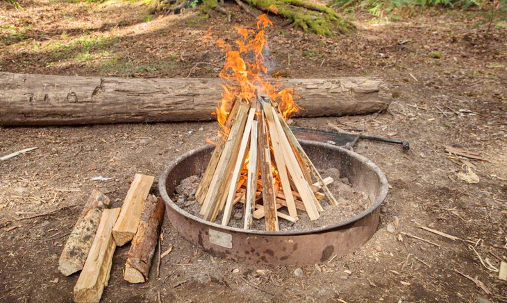 The teepee Fire