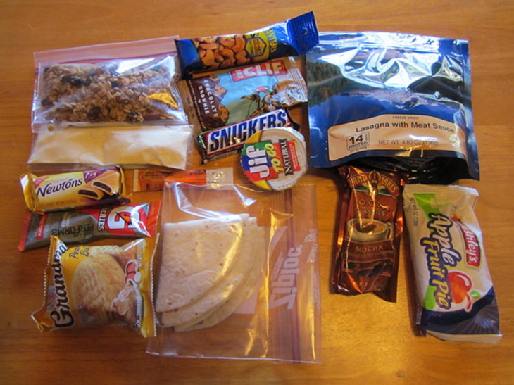 Ultralight Backpacking Meal Plan