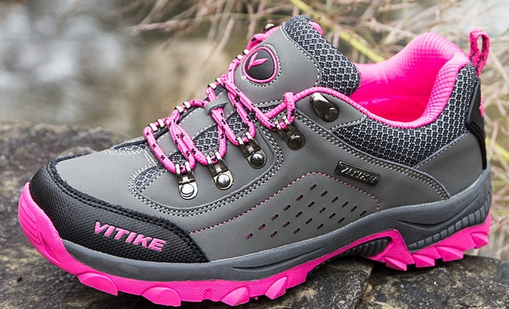 Image showing a 2018 model of the WETIKE-Kids-Hiking-Shoes