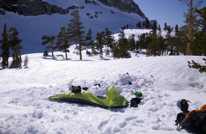 Winter bivy sack