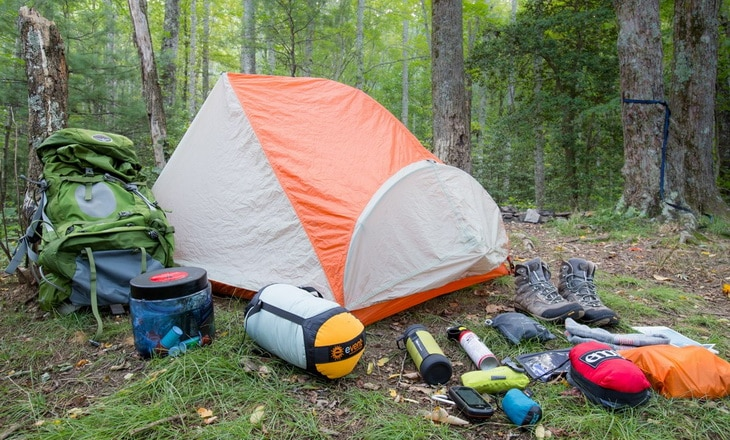backpacking-gear-outside