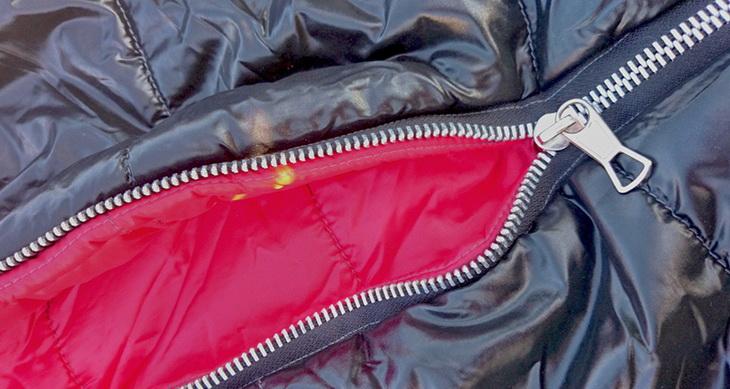 close-up sleeping-bag