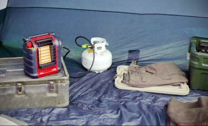 Image showing a camping-tent-heater