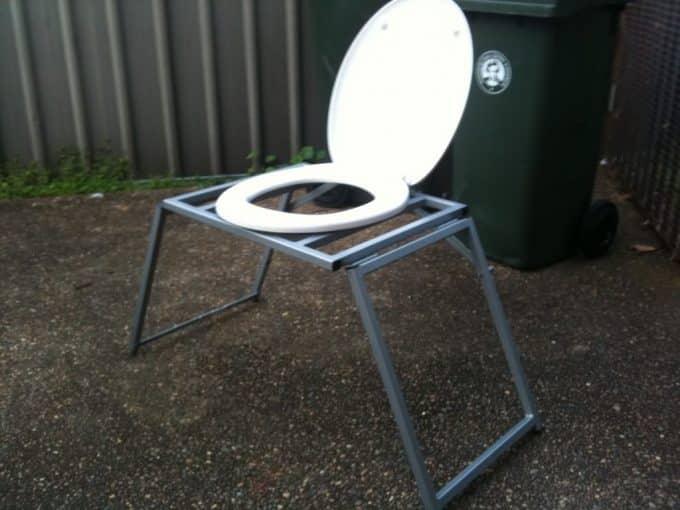 camping toilet seat