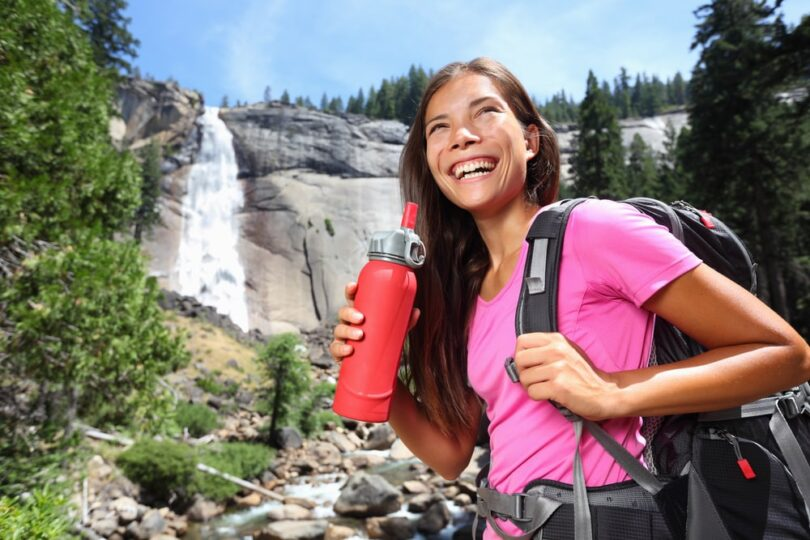 hiker-with-a-bottle-of-water
