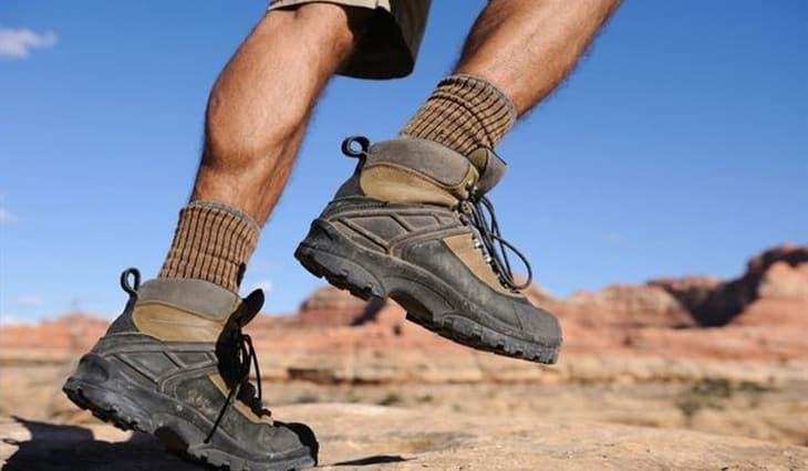 picture showing hiking-boots