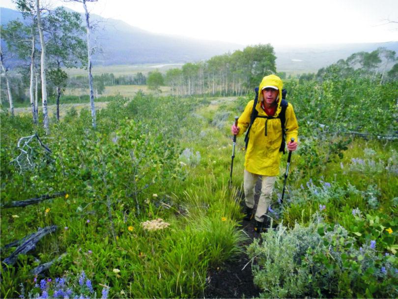 hiking-during-rain