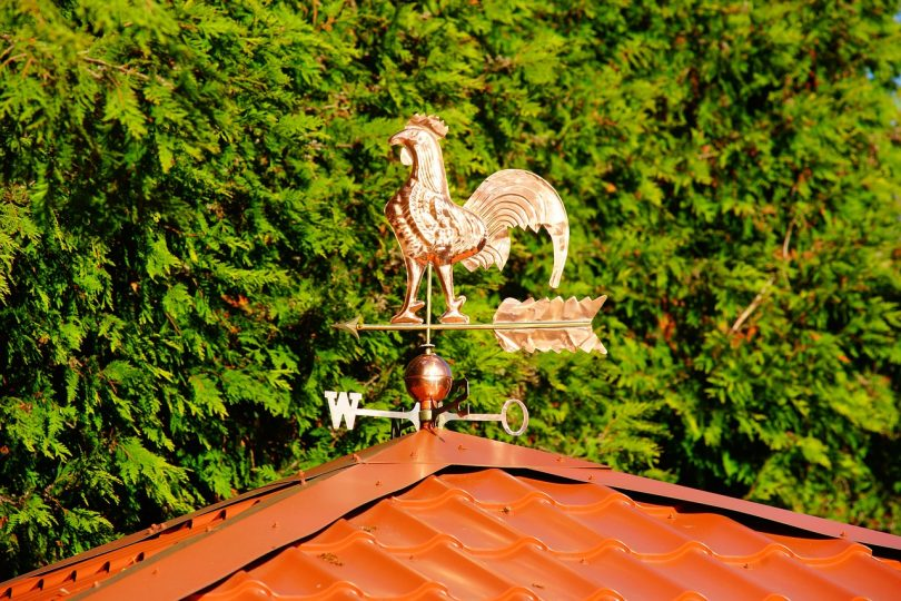 picture of a weather vane