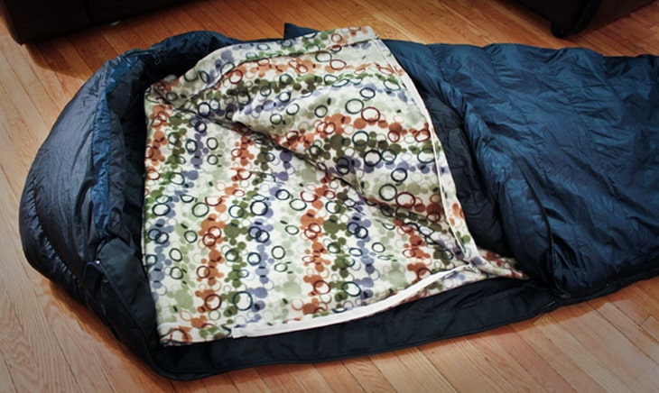 DIY Sleeping Bag Liner