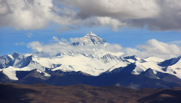 mount-everest during daytime