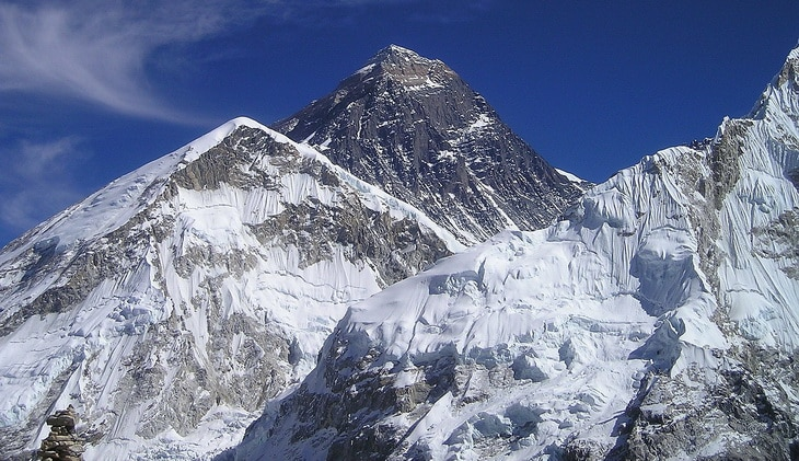 Beautiful Landscape of Mount-Everest