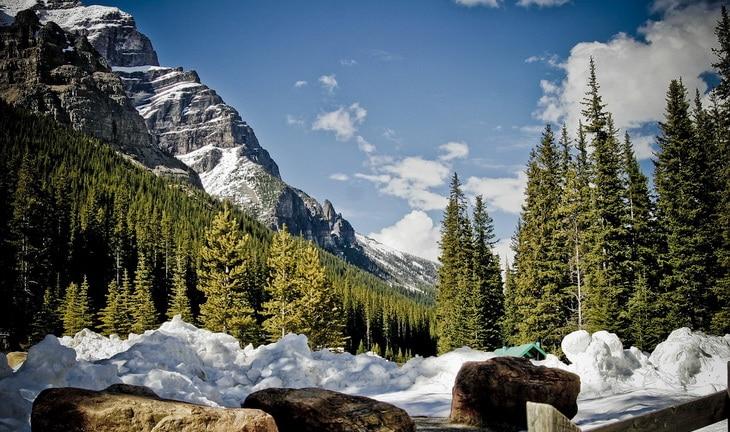 Landscape of Park Mountains