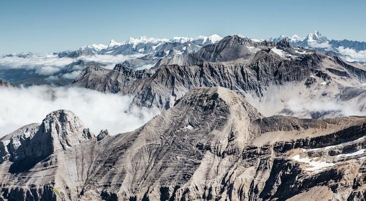 Mountains Jay Peak View