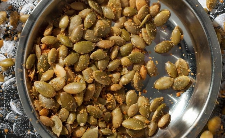 Pumpkin Seeds with barbecue