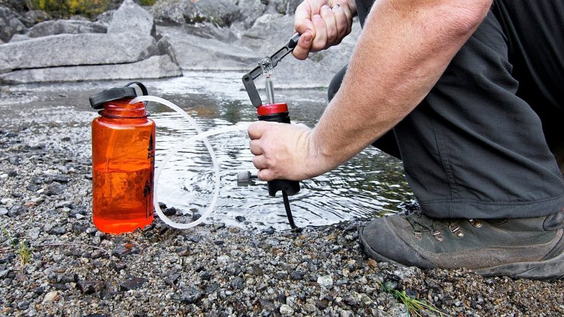 how to purifying water you collect from a lake or river.