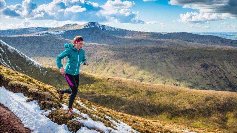 running-hiker