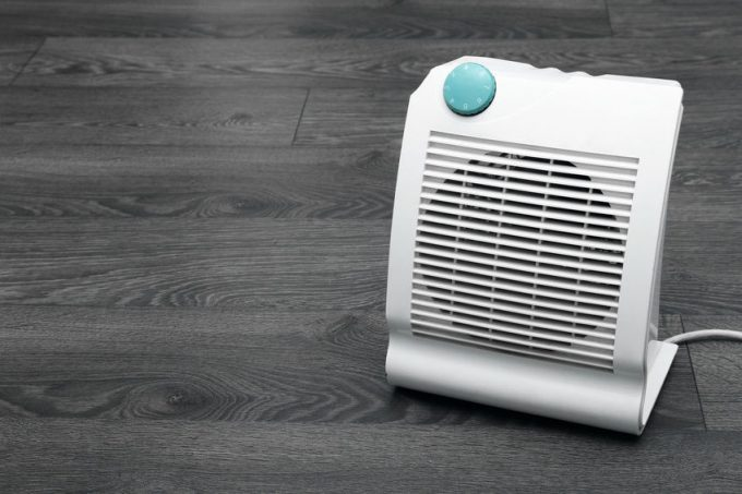 Image showing a small portable heater