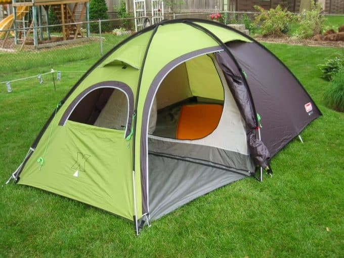 tents rainfly vestibule area