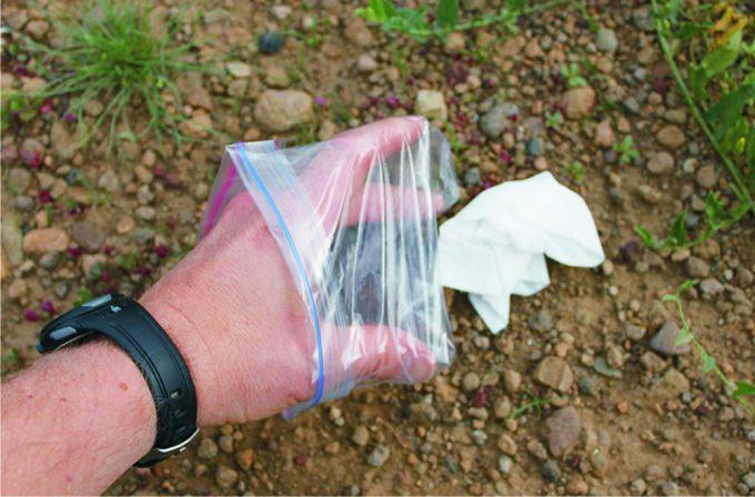 toilet paper disposal bags