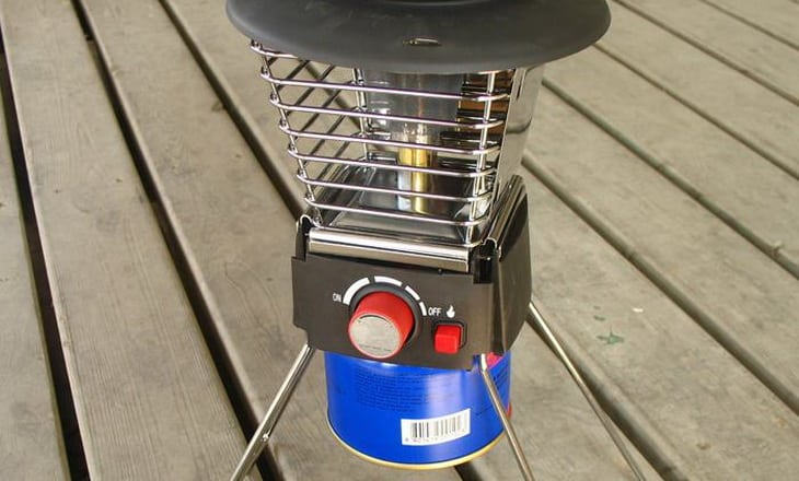Image showing a c&ing-gas-heater-tent-warmer & Best Tent Heaters: Buying Guide and Expertu0027s Reviews