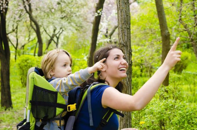 woman-hiking-with-baby