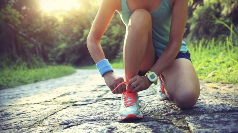 woman-running-in-hiking-shoes