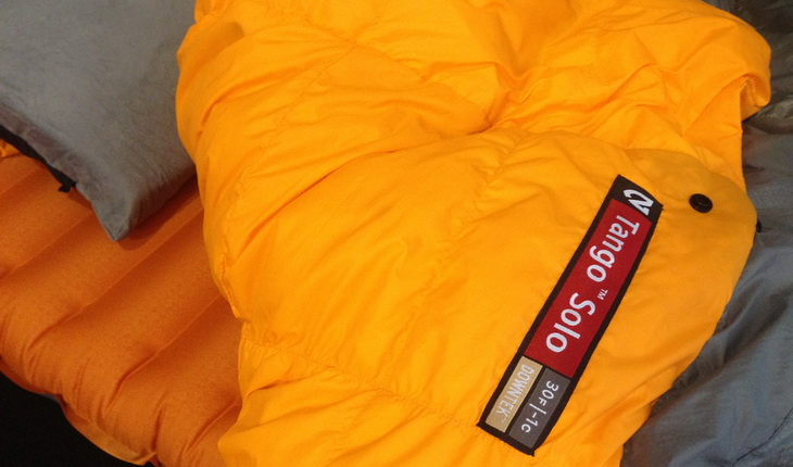 Close-up image of Nemo Tang Solo Down Comforter