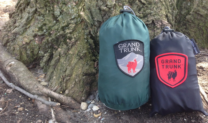 Grand Trunk Ultralight hammock and tree straps