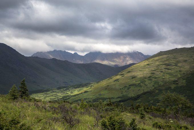 Flattop Mountain in Alaska