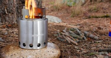 stole stove in nature