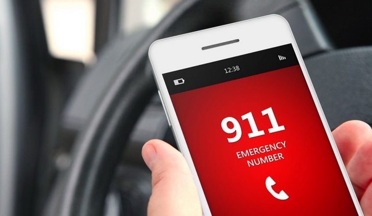 911 Emargency Service on a Phone