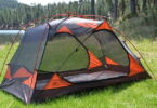 Alps Mountaineering Chaos Tent in the sunlight