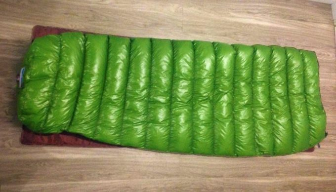 mitylight sleeping bag full size