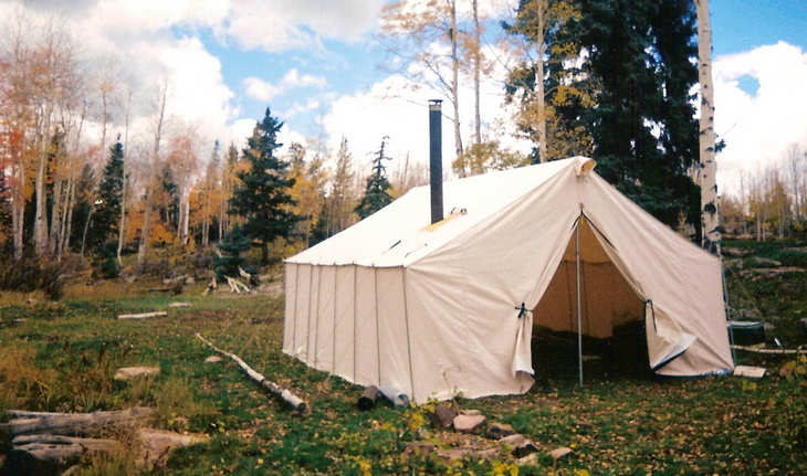 A good canvas tent is one you buy once
