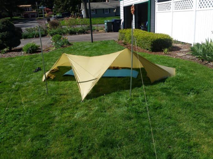 Arrowhead tarp