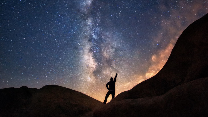 Away from the city lights of the West, the night sky promises a dazzling celestial show