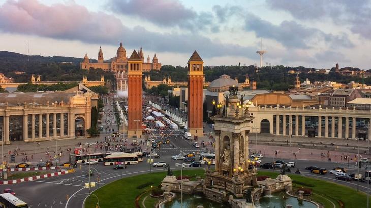 Backpacking Barcelona