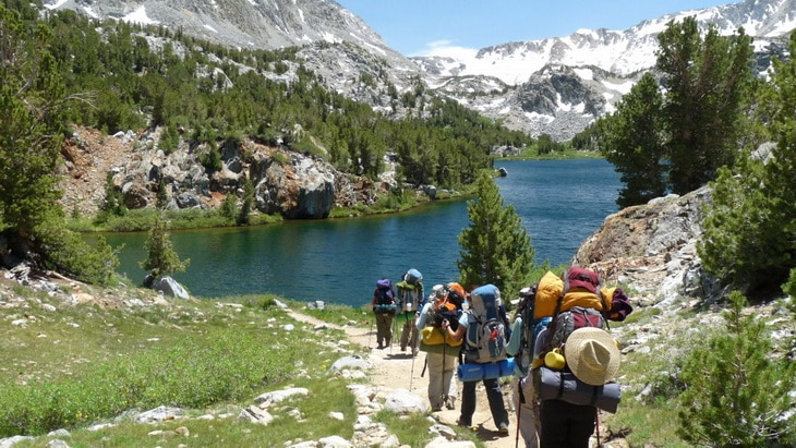Backpacking in the Eastern Sierra Nevadas