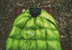 Big Agnes Pitchpine on a sleeping pad