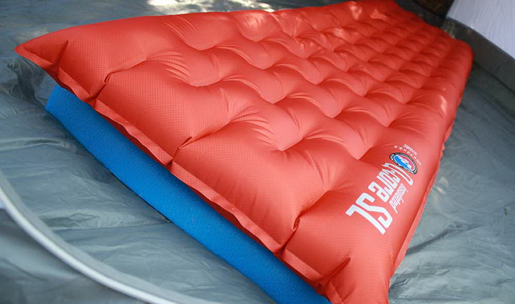 Big Agnes Q-Core SL Sleeping Pad in a tent