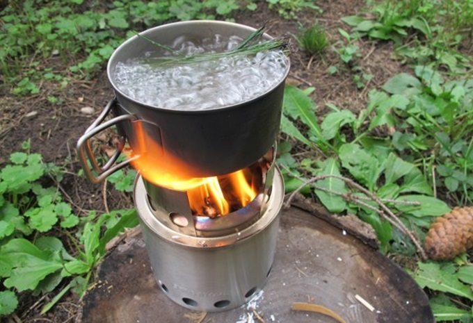 Boiling-tea