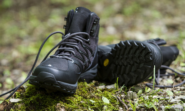 Image presenting hiking boots