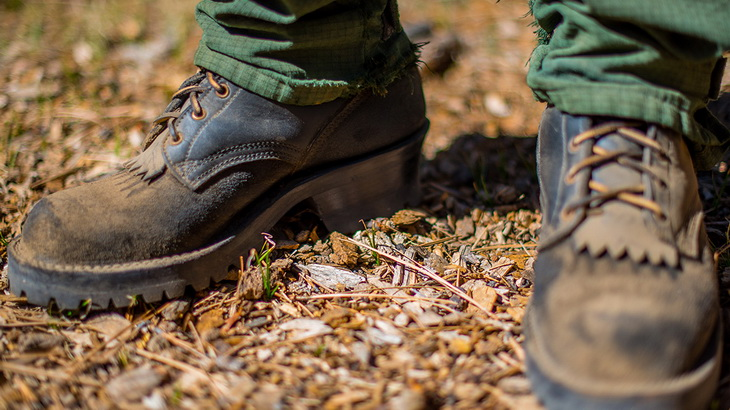 Break in Your New Leather Hiking Boots