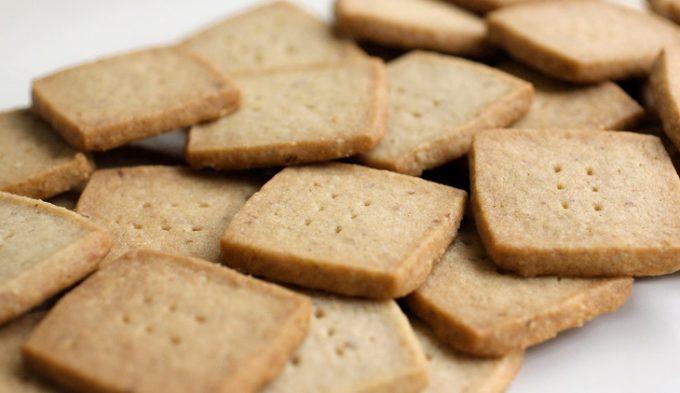 Brown Sugar-Pecan Shortbread Cookies