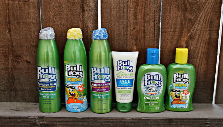 Bull Frog Mosquito Coast Spray Sunscreen Insect Repellent