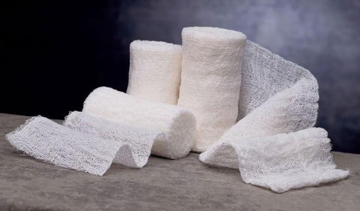 Caring Gauze Bandage Rolls