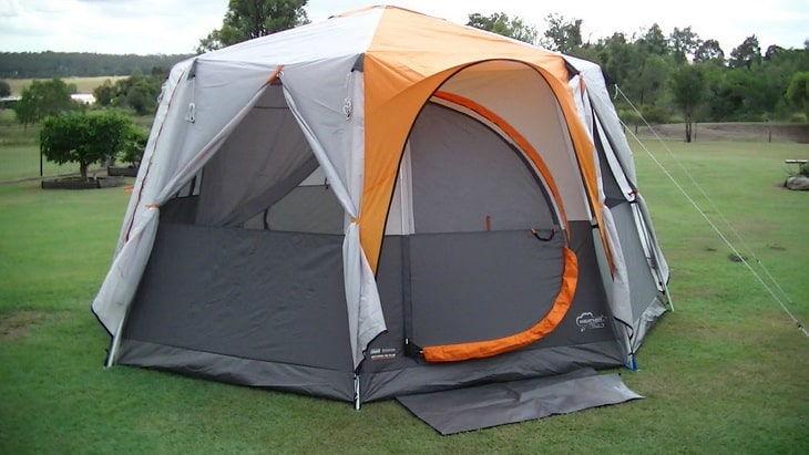 Coleman OCTAGON 98 TENT & How to Pitch a Tent: Step-by-Step DIY Guide and Expertu0027s Advice